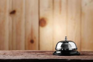 Metal service bell