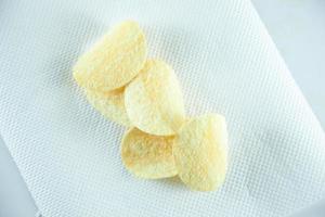 papas fritas en tejido