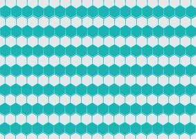 Abstract Hexagon Pattern Background vector