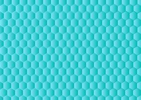 Gradient Hexagonal Background. Abstract Blue Background With Hexagon Pattern. vector