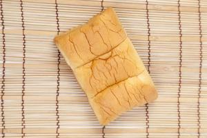 Loaf of bread on the table photo