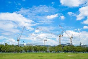 Construction cranes for construction
