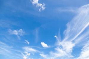 Clouds on the sky photo