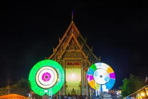 Festival at the temple in Thailand