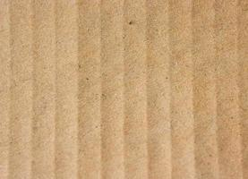 Close-up of brown ridged paper for texture or background