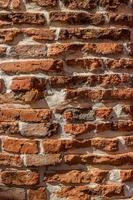 Brick wall for texture or background