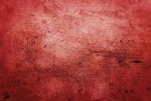 Red concrete or cement wall for texture or background