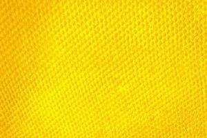 Close-up de toalla amarilla para textura o fondo foto