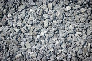 Gray gravel for texture or background photo
