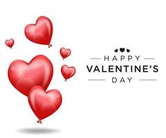Lovely happy valentines day background simple design