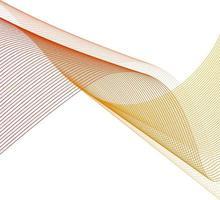 Abstract Line design background illustration