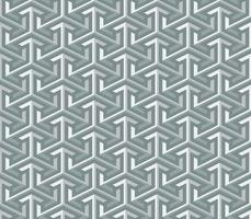 abstract 3d geometric arrow seamless pattern background