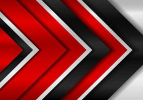 Abstract black and red metal background vector editable design