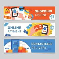 Contactless Shopping Banner