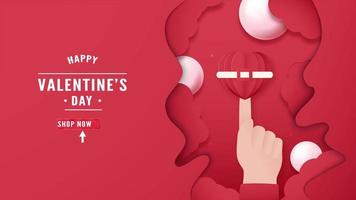 Motion Template For Happy Valentine's Day video