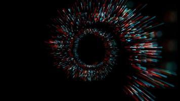 fundo da linha de cor em espiral