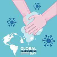 letras del día mundial del lavado de manos con covid19 y lavado de manos