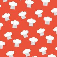 Restaurant cooking pattern background vector