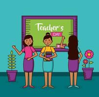 diseño de celebración del día del maestro