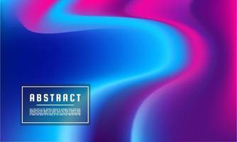 Plantilla de fondo de flujo de color líquido abstracto