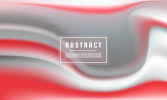 Plantilla de fondo de flujo de color líquido abstracto vector