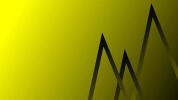 Fondo abstracto de líneas de color amarillo oscuro