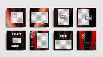 banner web cuadrado de promoción moderna para redes sociales