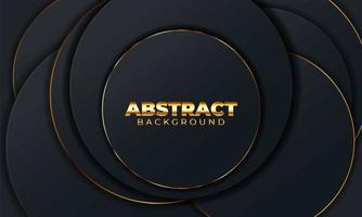 fondo abstracto con formas geométricas. elemento de decoración para cartel o diseño de portada. ilustración vectorial