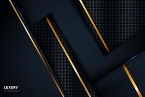 Luxury Background with Golden Stripes. vector