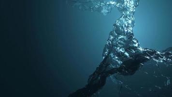 padrões de água ondulando loop de animação de textura fx
