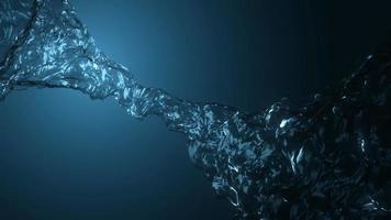 animação de textura fx padrões de fluxo de água