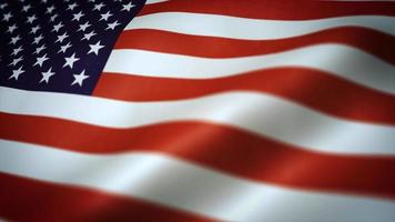 American Flag Textured Background Seamlessly Looping