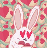 Valentines Day cartoon character vector