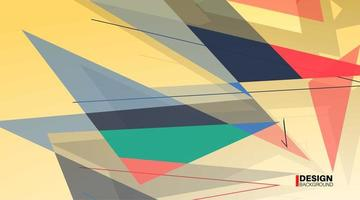 Geometric abstract background. Overlap of modern forms