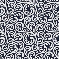 Ornament seamless floral pattern. vector
