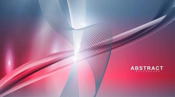 Vector wave design background. Abstract graphic template.