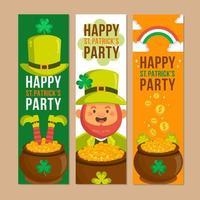 Happy St. Patrick's Party Celebration vector