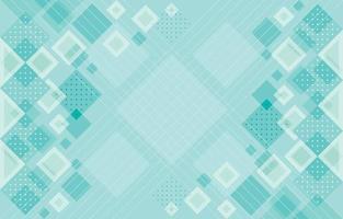 composición de patrón abstracto geométrico de color plano suave vector