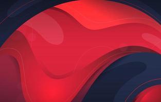 Fluid Red Gradient Background vector