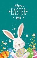 Cartoon Cute Easter Bunny