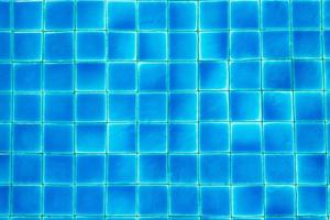 Blue swimming pool floor for background