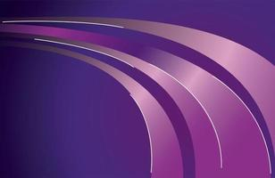 colorful light trail in purple background vector