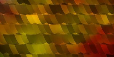 Light Multicolor vector background with hexagons.