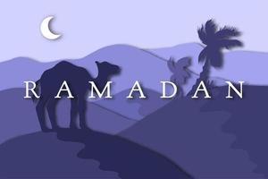 Ramadan Kareem greeting vector