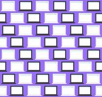 técnicas y dispositivos de patrones sin fisuras vector
