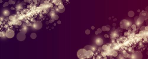 Blurred light sparkle elements. vector