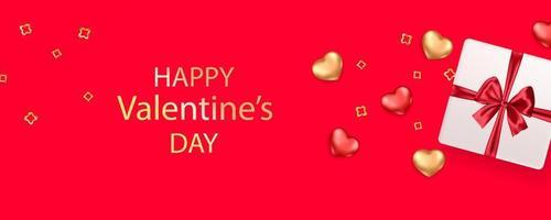 Valentine's day card concept. Romantic background.