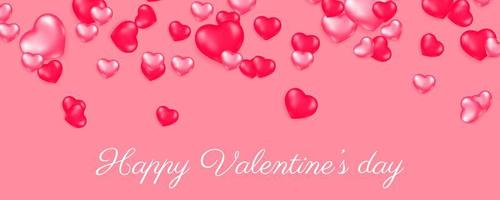 Valentine's day card concept. Romantic background. vector
