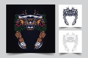 culture ragda artwork vector