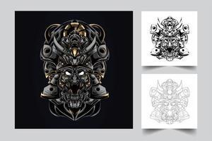 satan artwork illustration vector